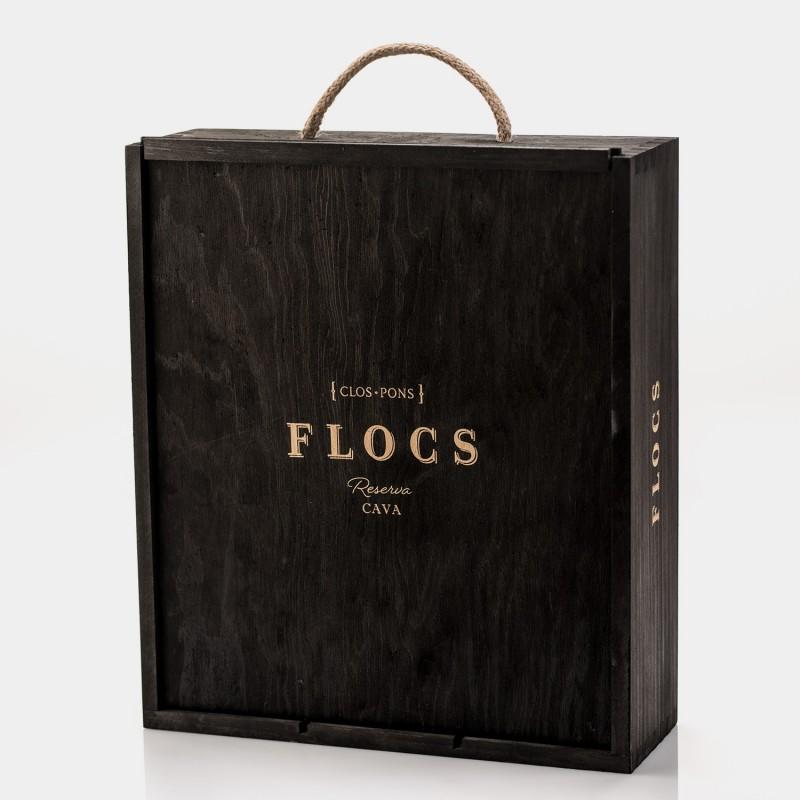 FLOCS Cava Reserva 750 Ml * 3 Estoig...