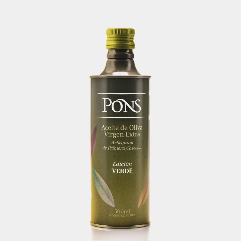 PONS Edició Oli Verd llauna 500 Ml.