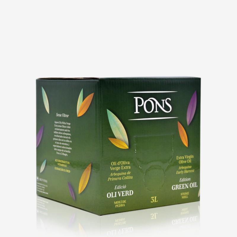 PONS Edició Oli Verd Bag in Box 3L.