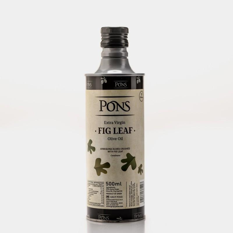 PONS Fresh Crushed EVOO with Fig Leaf...