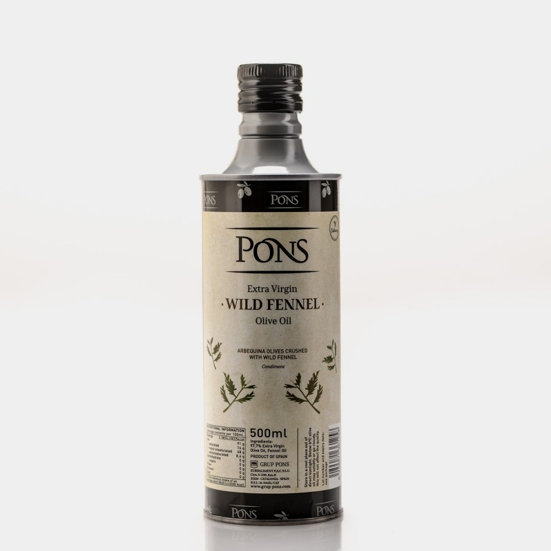 PONS Fresh Crushed EVOO with Wild...