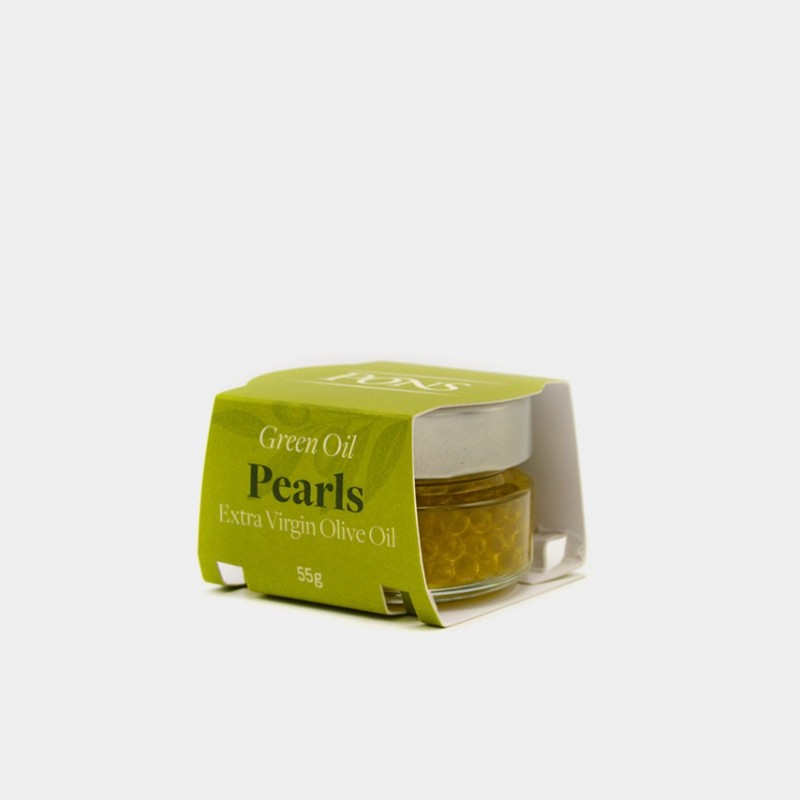 PONS Green Oil Arbequina EVOO Pearls...