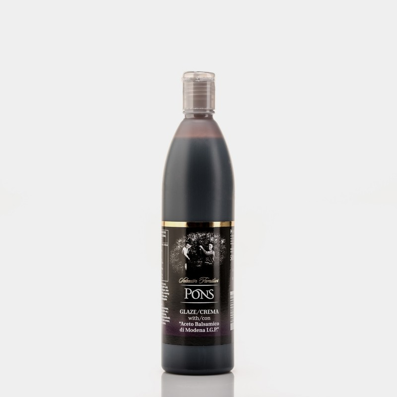 PONS Balsamic Vinegar Glaze IGP 500 MI