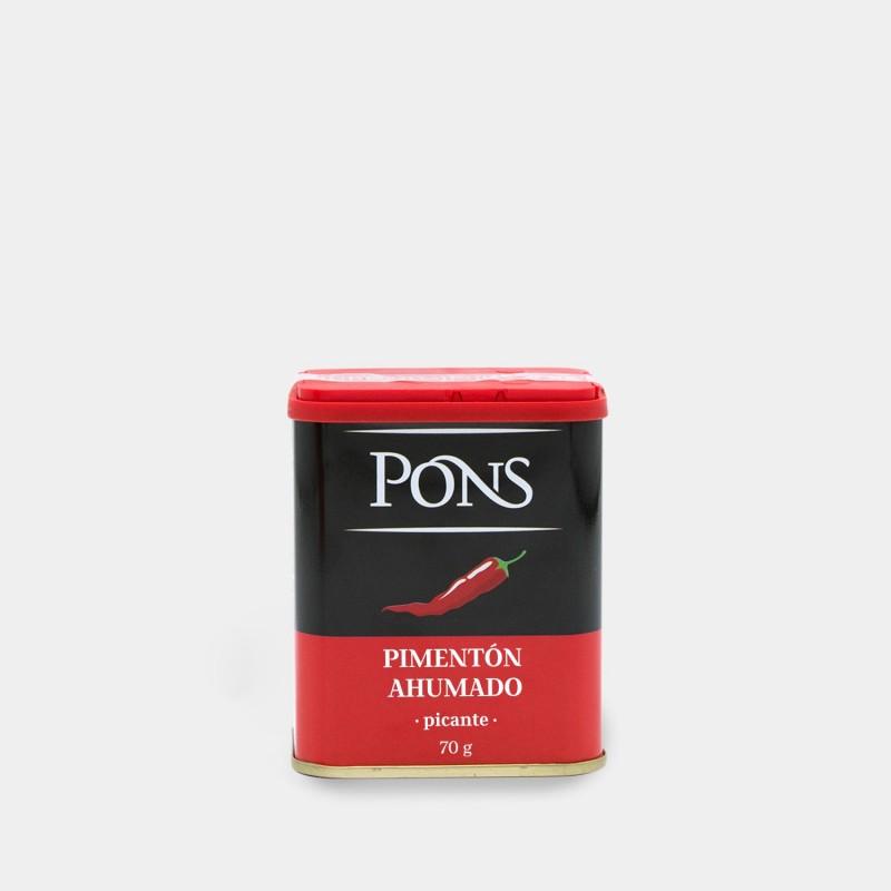 PONS Spanish Hot Smoked Paprika 70 Gr.